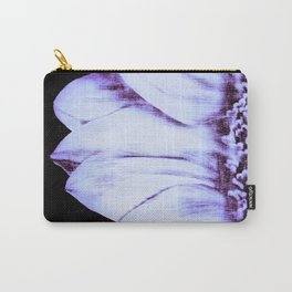 Lavender Periwinkle Sunflower Carry-All Pouch