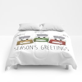 Season's Greetings | Garlic, Oregano & Paprika Comforters