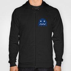 Pac-Man Blue Ghost Hoody