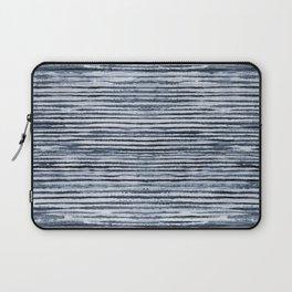 Watercolor Shibori Zebra Stripes Laptop Sleeve