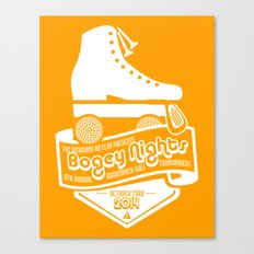 Bogey Nights Canvas Print