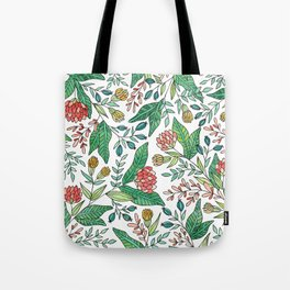 Wildflower Pattern - Full Color Tote Bag