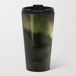 Pyramids Green Travel Mug