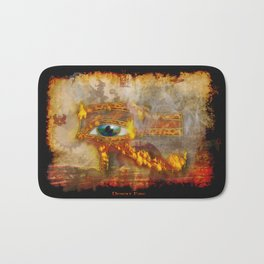 Desert Fire - Eye of Horus Bath Mat
