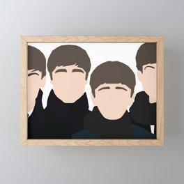 Fab Four Photoshoot Framed Mini Art Print
