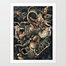 Azathoth Art Print