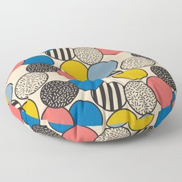 Memphis Inspired Pattern 5 Floor Pillow