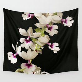 Calanthe rosea Orchid Wall Tapestry