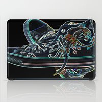 sneakers iPad Cases featuring My Sneakers by Dawn East Sider