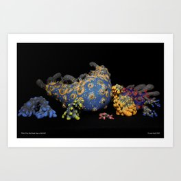 What If You Ha Never Seen a Starfish? Group Print Art Print