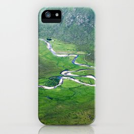Highland Mountain Rivers iPhone Case