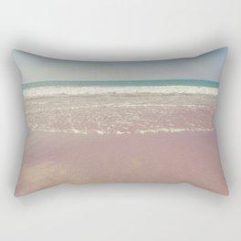 The beach Rectangular Pillow