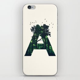The Letter A iPhone Skin