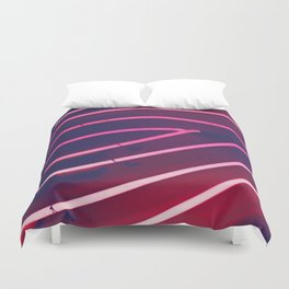 Pink Neon Duvet Cover
