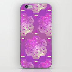 3D geometric shape iPhone Skin