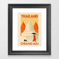 Thailand - Chiang Mai Framed Art Print