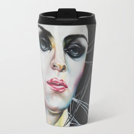 Glassy eyes Travel Mug