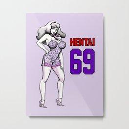 Hentai 69 Daphne Metal Print