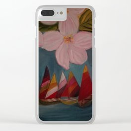 Barcos a Vela Clear iPhone Case