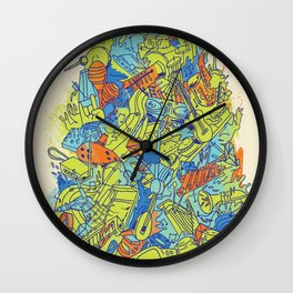 Music--Something For Everyone Wall Clock
