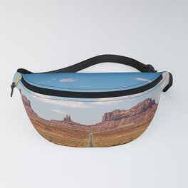 On the Open Road - Monument Valley Fanny Pack