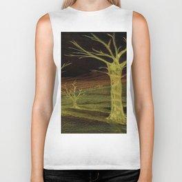 """""""Night Trees"""" Biker Tank"""