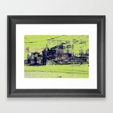 Toronto, Queen and Spadina Framed Art Print