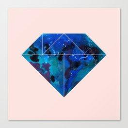 Tangram Diamond Three Canvas Print