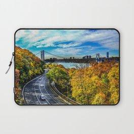 Fall along the Hudson Laptop Sleeve