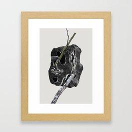 Trees Rocks pt. 1 Framed Art Print