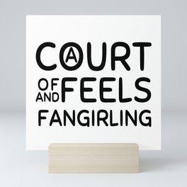 A Court of Feels and Fangirling Mini Art Print