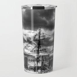 Stavros N Niarchos Ship  London Travel Mug