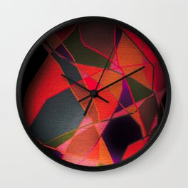 Abstract Form Wall Clock