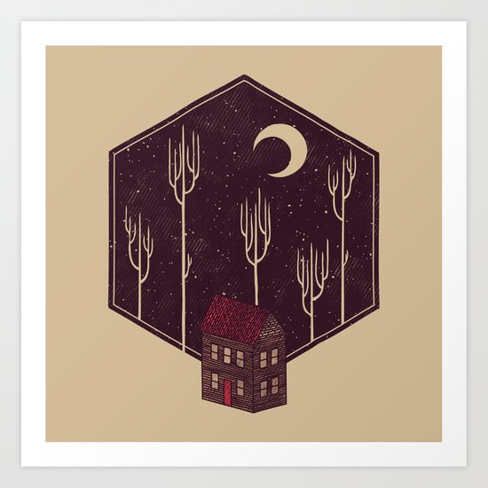 Still Night Art Print