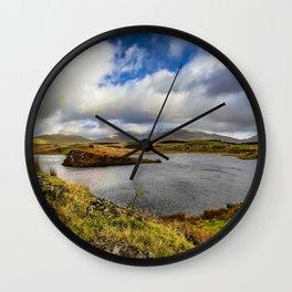 Llyn y Dywarchen Snowdonia Wall Clock