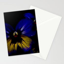 Dark Midsummer Pansies, Love Potion Stationery Cards