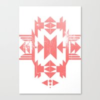tribal Canvas Prints featuring Tribal by Molnár Roland