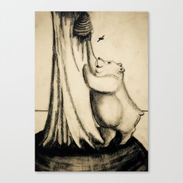 Honey Bear 2 Canvas Print