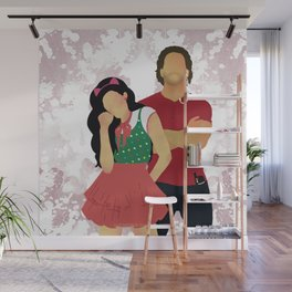 Sinfully Tangled Wall Mural