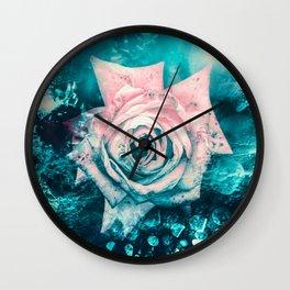 Queen Rose Wall Clock