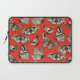 summer butterflies fire Laptop Sleeve