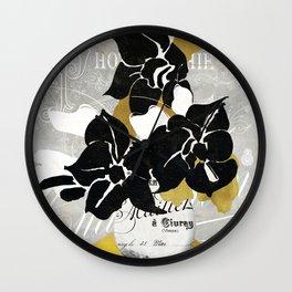 Georgette I Wall Clock