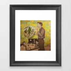 Somewhen in Time Framed Art Print