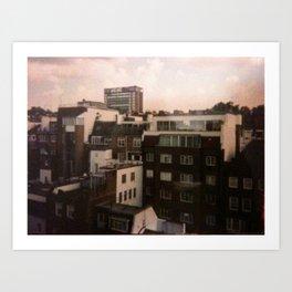 A VIEW IN LONDON Art Print