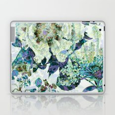 floral in blue Laptop & iPad Skin