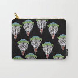 TIMBERWOLVES HAND-DRAWING DESIGN Carry-All Pouch