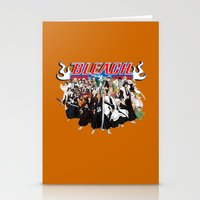 bleach Stationery Cards featuring TOGETHER BLEACH by feimyconcepts05