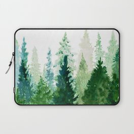 Pine Trees 2 Laptop Sleeve