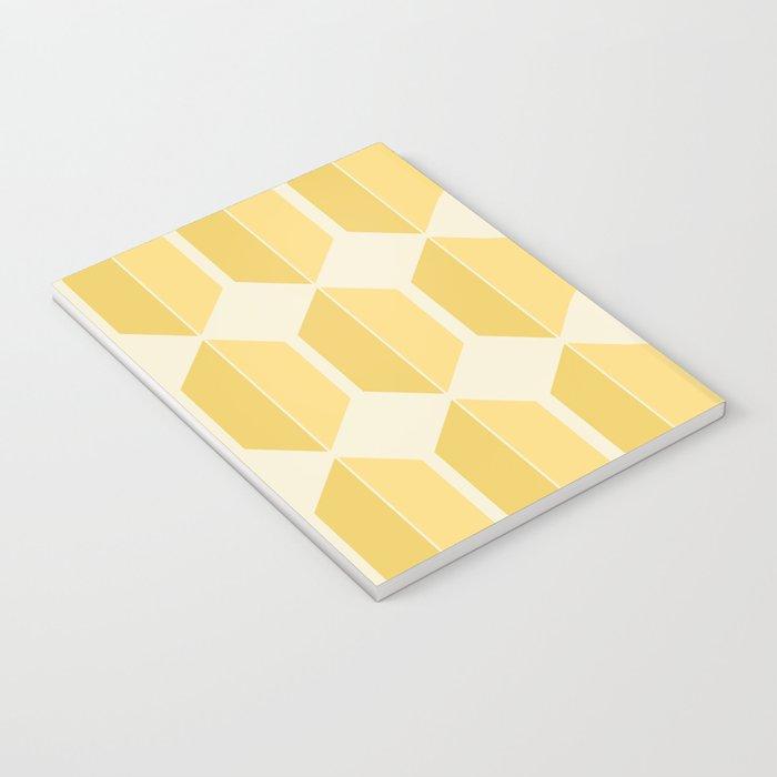 Zola Hexagon Pattern - Golden Spell Notebook