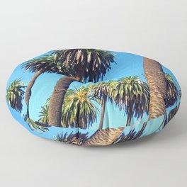 Peaceful Palms Floor Pillow